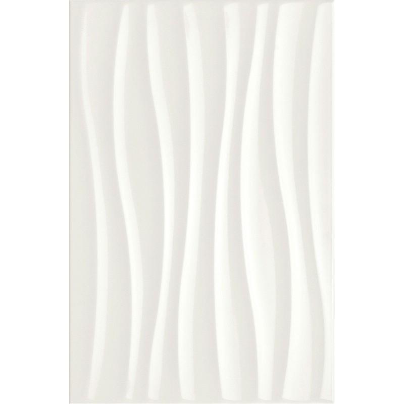 CHROMA WHITE STRUTTURA TIDE 3D 25X38 MARAZZI