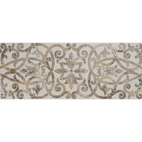 CREEK DECORO RASO AVORIO 20X50 RAGNO