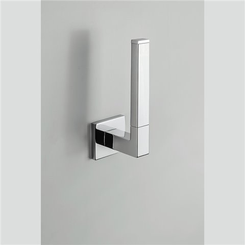 BASIC Q PORTE ROULEAU DE PAPIER TOILETTE CHROME' COLOMBO DESIGN