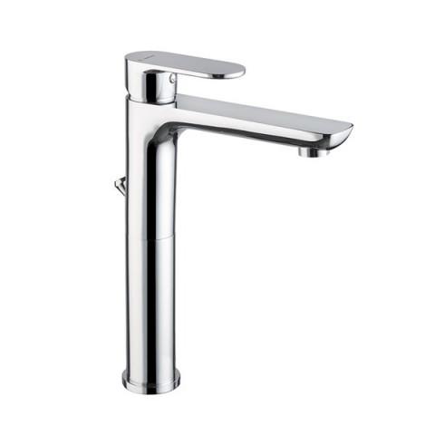 EXTRO Mitigeur monocommande haute pour lavabo à poser avec vidage à tiret NEWFORM