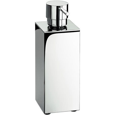 LOOK DISPENSER SAVON LIQUIDE CHROME' A POSER COLOMBO DESIGN