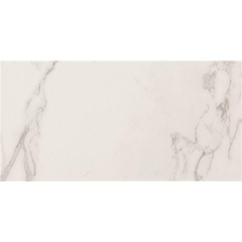 DELUXE WHITE 45x90 NATURAL RECTIFIE' MARCA CORONA