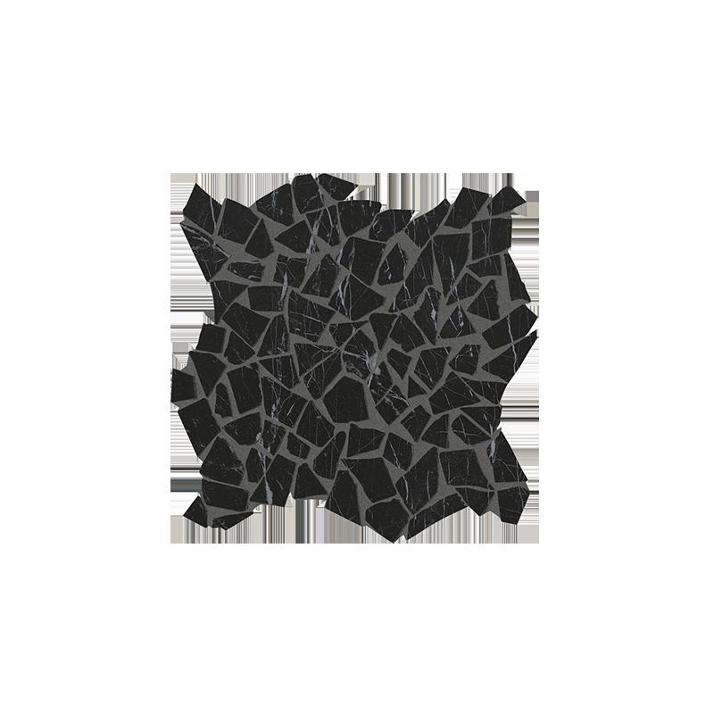 ROMA DIAMOND NERO REALE SCHEGGE GRES MOSAICO 30X30 FAP CERAMICHE