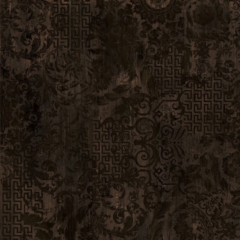 ETERNO PATCHWORK BROWN 80X80 RECTIFIE' VERSACE GARDENIA