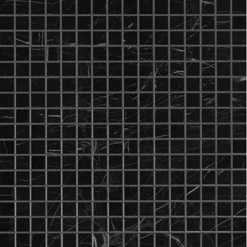 ROMA DIAMOND NERO REAL BRILLANTE MOSAICO 30.5X30.5 FAP CERAMICHE
