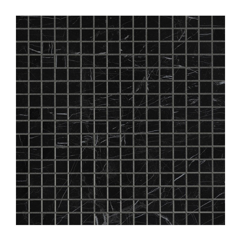 ROMA DIAMOND NERO REAL BRILLANTE MOSAICO 30.5X30.5 FAP CERAMICHE