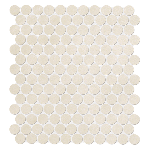 COLOR NOW BEIGE ROUND MOSAICO 29.5X32.5 FAP CERAMICHE