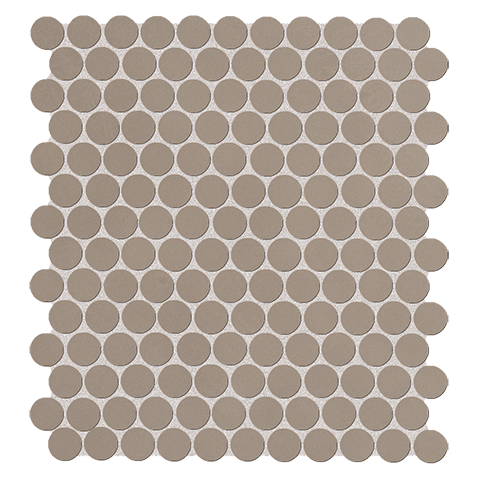 COLOR NOW FANGO ROUND MOSAICO 29.5X32.5 FAP CERAMICHE