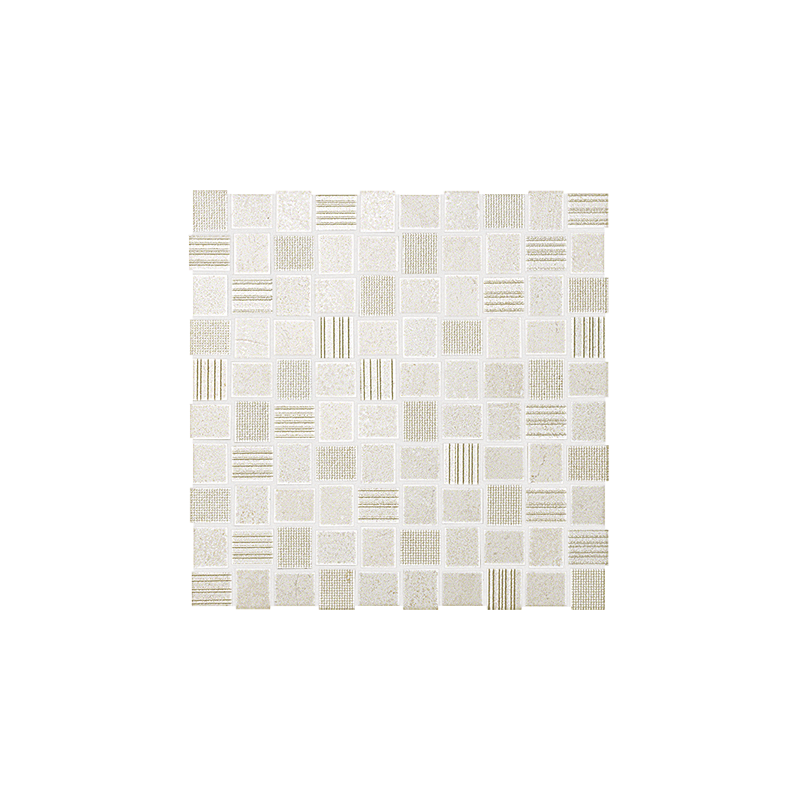 DESERT CHECK WHITE MOSAICO 30.5X30.5 FAP CERAMICHE