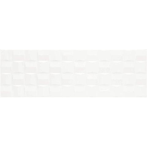 ABSOLUTE WHITE STRUTT. CUBE 3D LUX 25X76 MARAZZI