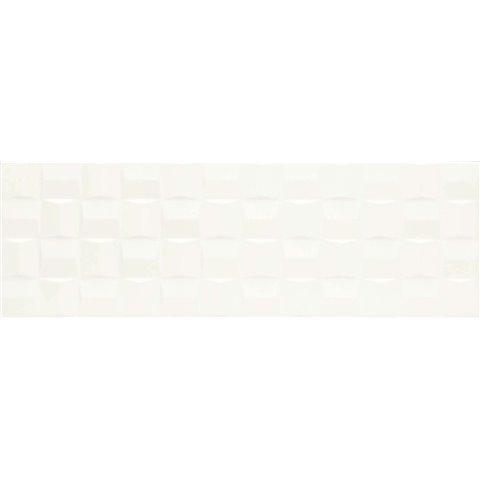 ABSOLUTE WHITE STRUTT. CUBE 3D SATINATO 25X76 MARAZZI