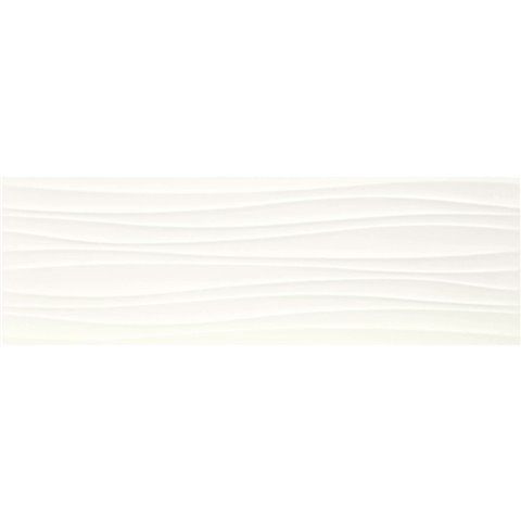 ABSOLUTE WHITE STRUTT. TWIST 3D SATINATO 25X76 MARAZZI