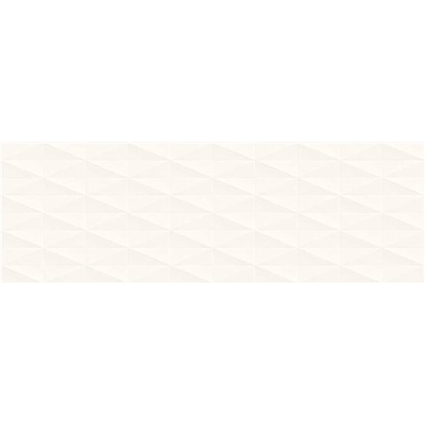 ECLETTICA WHITE DÉCORÉ DIAMOND 3D 40X120 RECT. MARAZZI