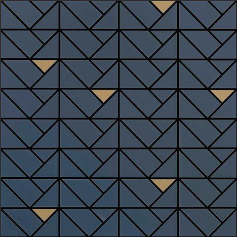 ECLETTICA BLUE MOSAÏQUE BRONZE 40X40 MARAZZI
