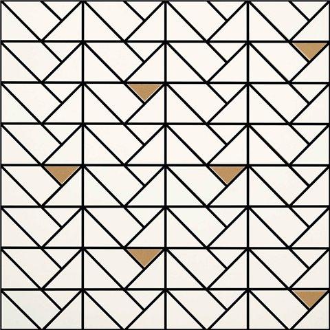 ECLETTICA WHITE MOSAÏQUE BRONZE 40X40 MARAZZI