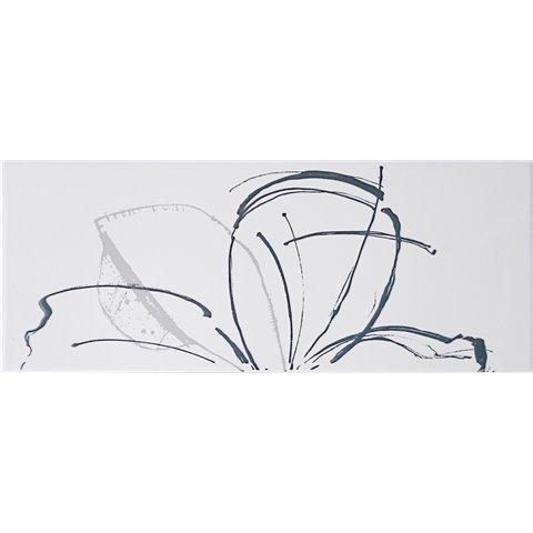 LINEUP INS. DAISY WHITE A+B 20x50 PAUL CERAMICHE