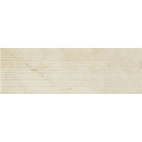 EVOLUTIONMARBLE GOLDEN CREAM STRUTT STRIPE 3D LUX 32,5X97,7 RECT MARAZZI
