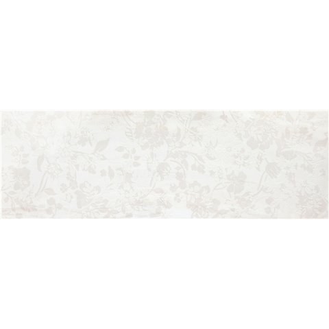 EVOLUTIONMARBLE WHITE RHINO DECORO RAMAGE 32,5X97,7 MARAZZI