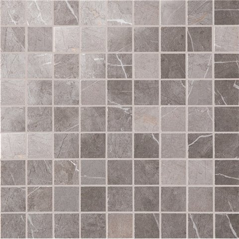 EVOLUTIONMARBLE MOSAICO GREY 30X30 NAT MARAZZI