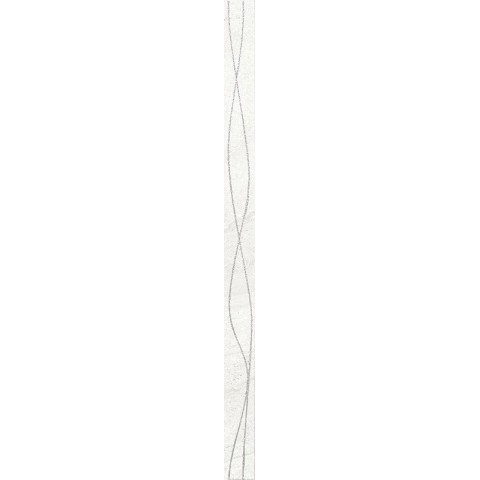 LISTELLO CHIC ULTRA WHITE 4X60 IDEA CERAMICA