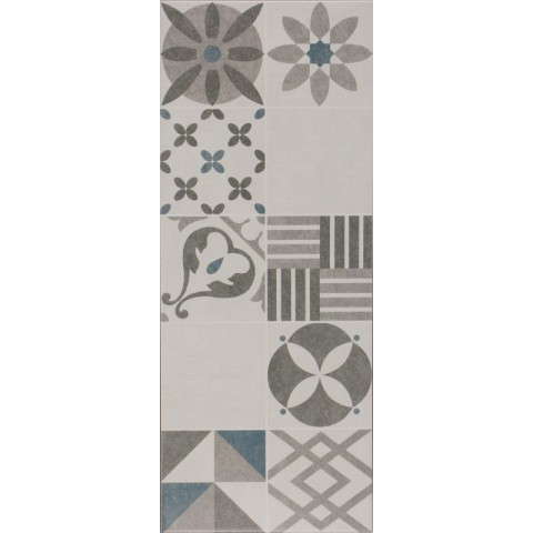 DECORO GRIS 20X50 IDEA CERAMICA
