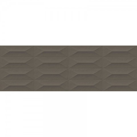 COLORPLAY TAUPE STRUCTURE CABOCHON 3D 30X90 MARAZZI