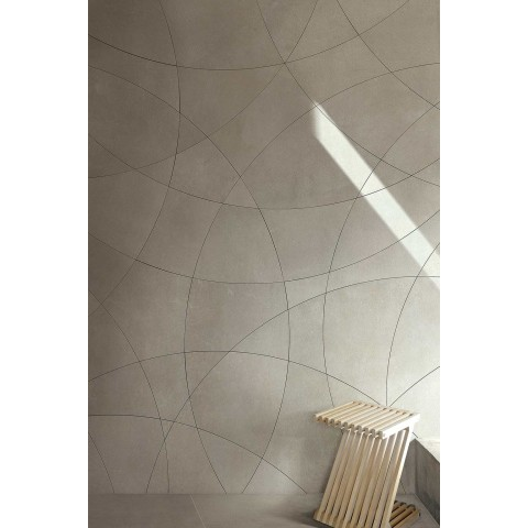 INDUSTRIAL STEEL NATUREL RECTIFIE' 80x80 FLORIM - FLOOR GRES