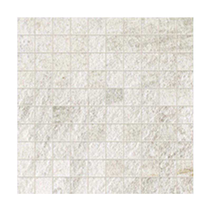 WALKS/1.0 WHITE NATUREL RECTIFIE' MOSAIQUE 30X30 R11- ép.10mm FLORIM - FLOOR GRES