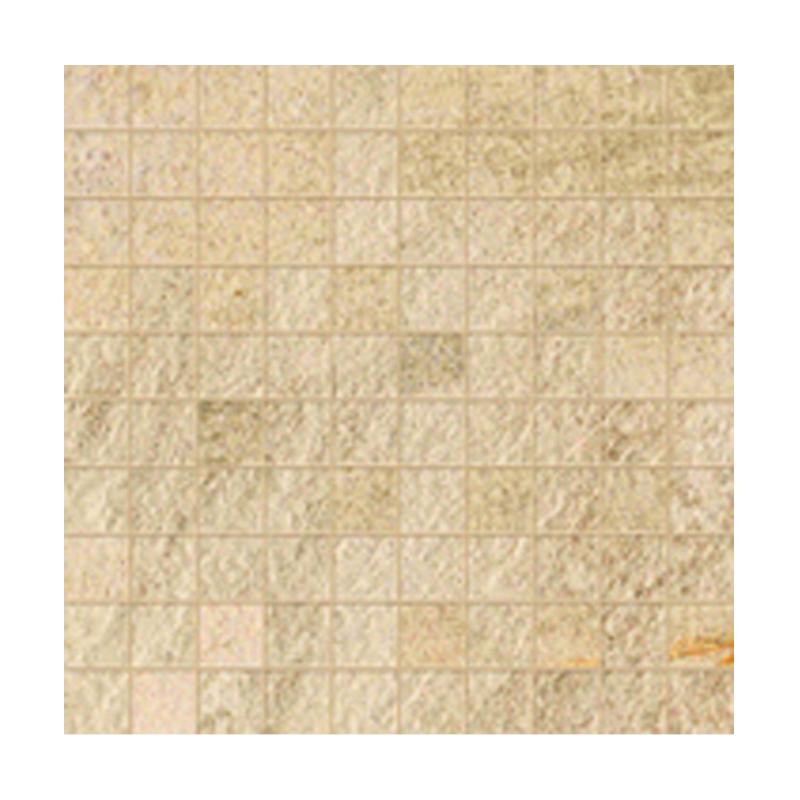 WALKS/1.0 BEIGE NATUREL RECTIFIE' MOSAIQUE 30X30 FLORIM - FLOOR GRES