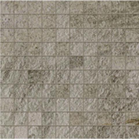 WALKS/1.0 GRAY NATUREL RECTIFIE' MOSAIQUE 30X30 R11- ép.10mm FLORIM - FLOOR GRES