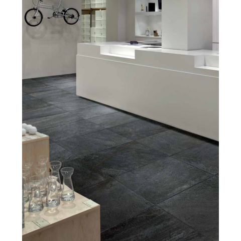 WALKS/1.0 BLACK NATUREL RECTIFIE' 60X120 FLORIM - FLOOR GRES