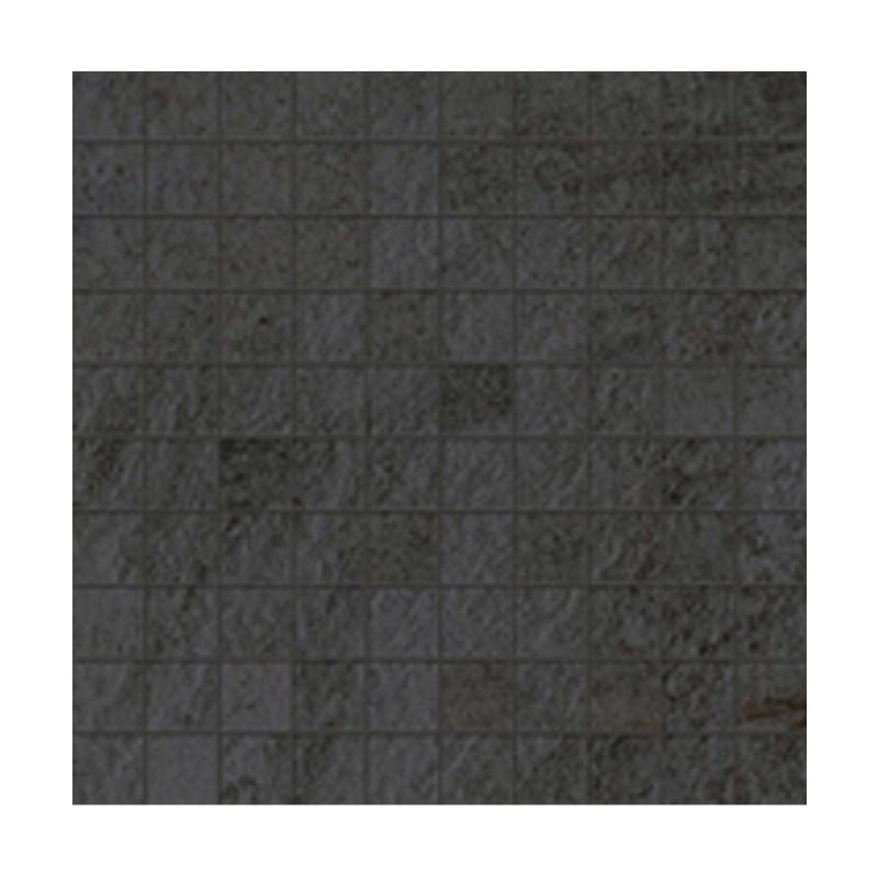 WALKS/1.0 BLACK NATUREL RECTIFIE' MOSAIQUE 30X30 FLORIM - FLOOR GRES