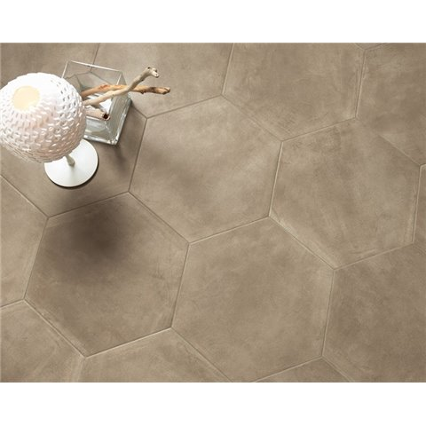 MADISON TAUPE ESAGONALE PAUL CERAMICHE