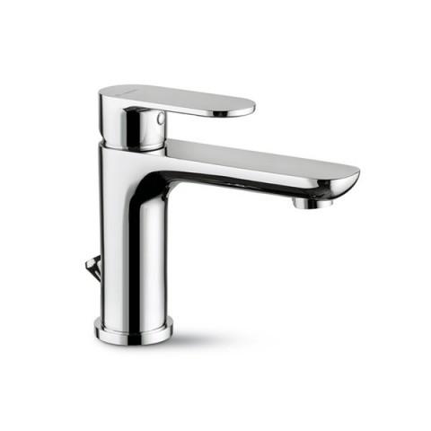 EXTRO Mitigeur de lavabo avec vidage à tiret et bec prolongé NEWFORM