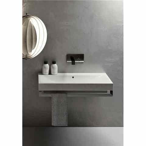 SMILE LAVABO SQUARE 100X48