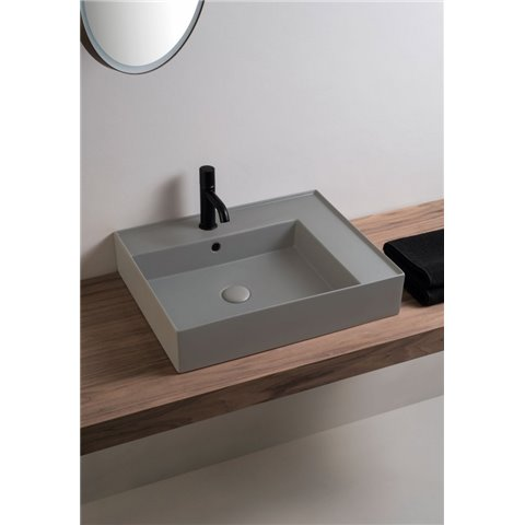 ENJOY LAVABO 60 RECTANGULAIRE A POSER SANITARI CIELO