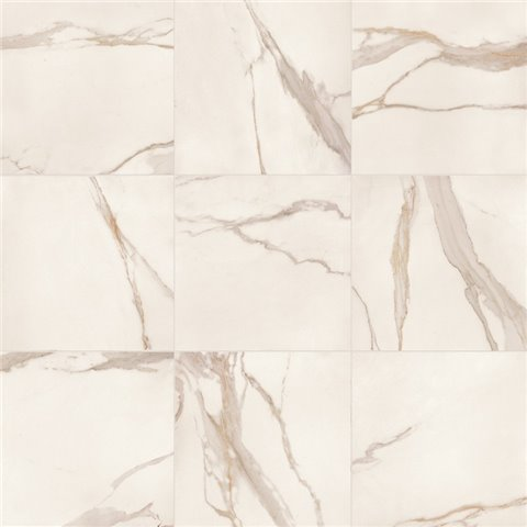 ELEMENTS LUX CALACATTA GOLD LAPPATO RECTIFIE' 60X60 KEOPE