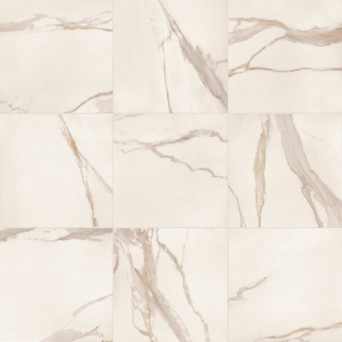 ELEMENTS LUX CALACATTA GOLD RECTIFIE' 60X60 (matt) KEOPE